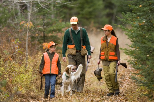 Bird Hunting in Iron County MI and stay at Chicaugon Lake Inn