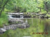 ATV along beautiful rivers in Iron County Michigan, stay at Chicaugon Lake Inn