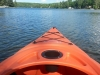 Kayaking Chicaugon Lake, Iron County Michigan and Chicaugon Lake Inn