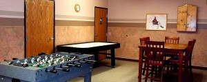 Recreation Room - Chicaugon Lake Inn - Iron River MI Hotels
