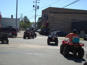 Four Wheeling at Iron River Michigan Hotel