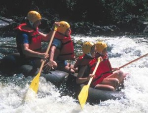 Crystal Falls Hotels - River Rafting