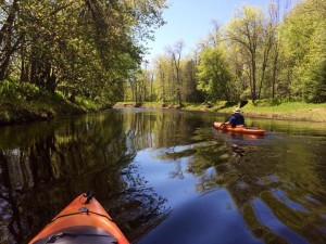 Canoeing in Iron River Hotels MI