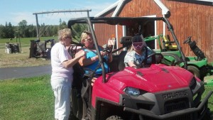 mom's atving in Michigan