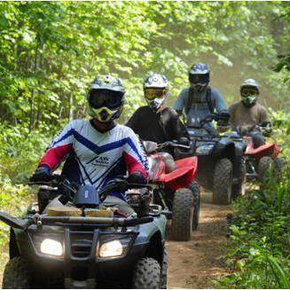 ATV riding in Iron County MI; staying at Chicaugon Lake Inn
